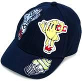 Kenzo patch-appliqué cap