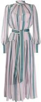 Zimmermann Wavelength roll neck dress