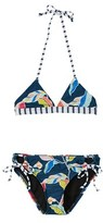 Splendid Girls' Tropical Triangle Bikini.