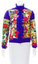 Moncler Alisa Floral Puffer Jacket
