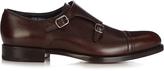 Salvatore Ferragamo Grand grained-leather monk-strap shoes