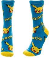 Bioworld 190371182945 Pokemon Pikachu Juniors Crew Socks