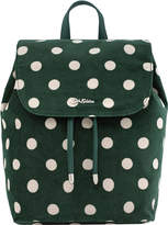 Cath Kidston Button Spot Smart Velvet Backpack