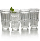 Mikasa Carroll Gate Set of 4 Highball Glasses