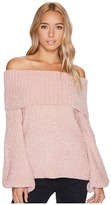 Brigitte Bailey Gisselle Ribbed Off the Shoulder Sweater Women's Sweater