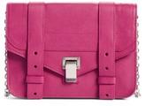Proenza Schouler Women's Ps1 Leather Chain Wallet - Purple