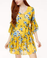 The Edit By Seventeen Juniors' Printed Wrap Dress, Created for Macy's