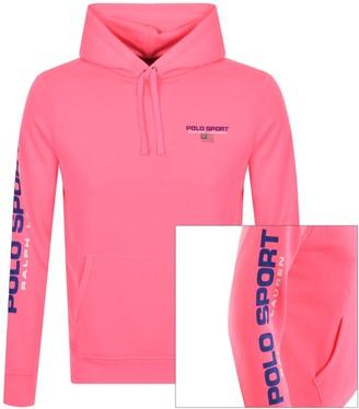 Ralph Lauren Polo Sport Pullover Hoodie Pink