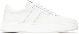 Tod's Low Top Panelled Sneakers