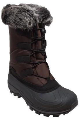 Winter Tecs Women's Nylon Winter Boots Brown