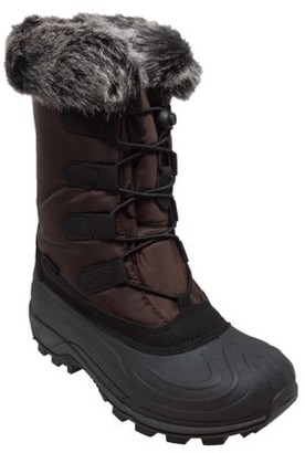 "AdTec ""Women's Nylon Winter Boots Brown"""