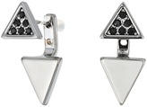 Rebecca Minkoff Two Part Triangle Earrings 16