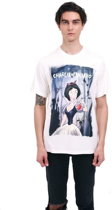 Charlie Luciano Snow White Unisex Print T-Shirt