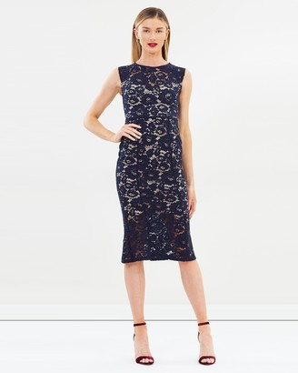 Lipsy Lace Midi Dress