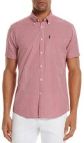 Barbour Hector Gingham Dot Regular Fit Button-Down Shirt