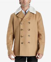MICHAEL Michael Kors Men's Fleece-Collar Pea Coat