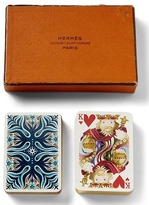 Banana Republic Luxe Vintage Hermes Playing Cards
