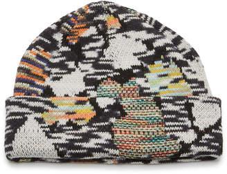 Missoni Intarsia-Knit Wool-Blend Beanie