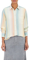 Sies Marjan Women's Striped Button-Front Shirt