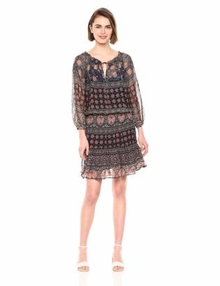 Velvet by Graham & Spencer Women's Beth Monaco Print Dress