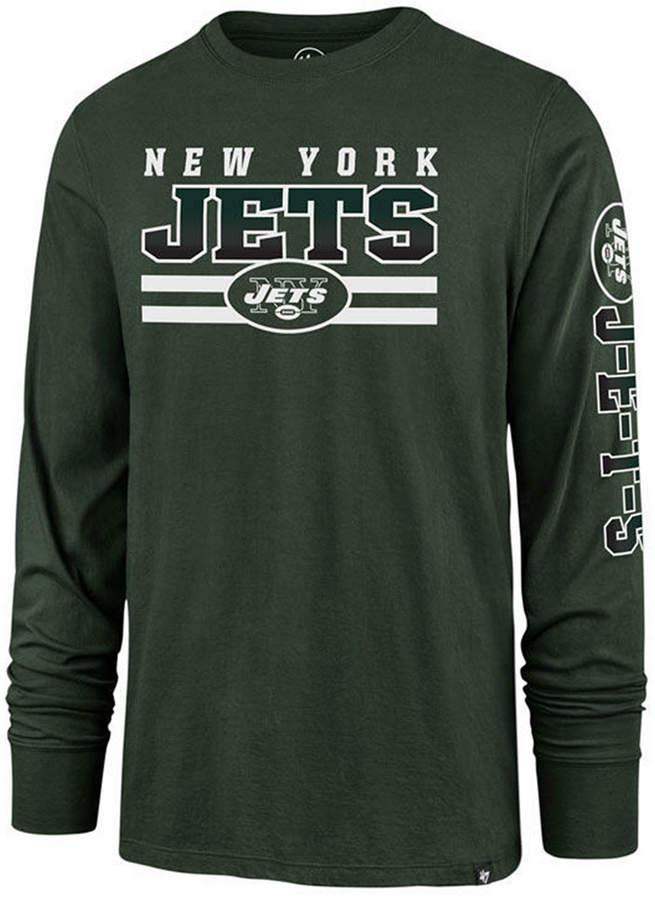 '47 Men New York Jets Level Up Long Sleeve Super Rival T-Shirt
