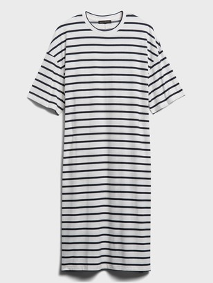 Banana Republic Boxy Threadsoft T-Shirt Dress