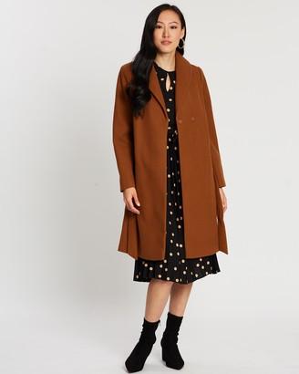 Dorothy Perkins Shawl Collar Wrap Coat