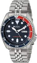 Seiko Men's SKX175 Automatic Dive Silver-Tone Watch