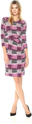Brinker & Eliza Women's Side Tuck Sheath Dress (Regular & Petite)