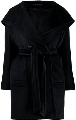 Tagliatore Chelsey belted coat