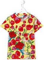 10X10 An Italian Theory Kids roses print T-shirt