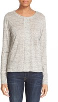 Frame Women's Long Sleeve Linen Tee