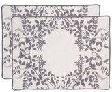 Set of 4 Placemats - Hedgerow Pewter