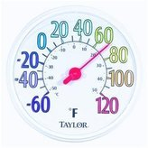 Taylor Color Dial Thermometer