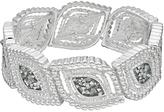 Dana Buchman Marquise Textured Stretch Bracelet