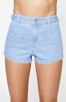 KENDALL + KYLIE Kendall & Kylie Spring Blue Super High Rise Denim Shorts