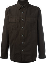 Hudson military shirt - men - Cotton - S