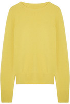 The Row Sibel Wool And Cashmere-blend Sweater - Yellow