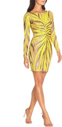 Dress the Population Lola Long Sleeve Minidress