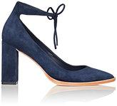Loeffler Randall Women's Rita Suede Ankle-Tie Pumps