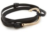 Miansai Hook Leather Bracelet