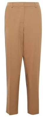 Dorothy Perkins Womens Camel Ankle Grazer Trousers