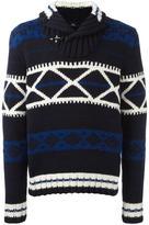 Fay patterned jumper
