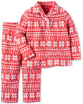 Carter's 2-Pc. Snowflake-Print Pajama Set, Little Girls (2-6X) & Big Girls (7-16)