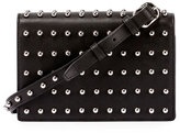 Alexander Wang Prisma Double Biker Studded Purse/Wallet, Black