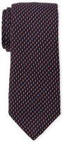 Altea Zigzag Pattern Silk Tie