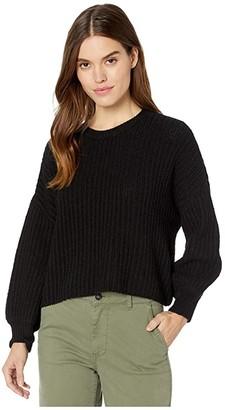 RVCA Louder Sweater (Black) Women's Sweater