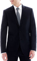 Jf J.Ferrar JF Navy Variegated Stripe Suit Jacket - Slim-Fit