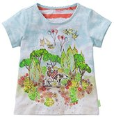 Oilily Girl's T-Shirt - Multicoloured -