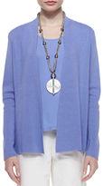 Eileen Fisher Silk Cotton Interlock Jacket
